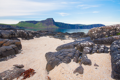 Waterstein Head from the coral beach at Neist Point