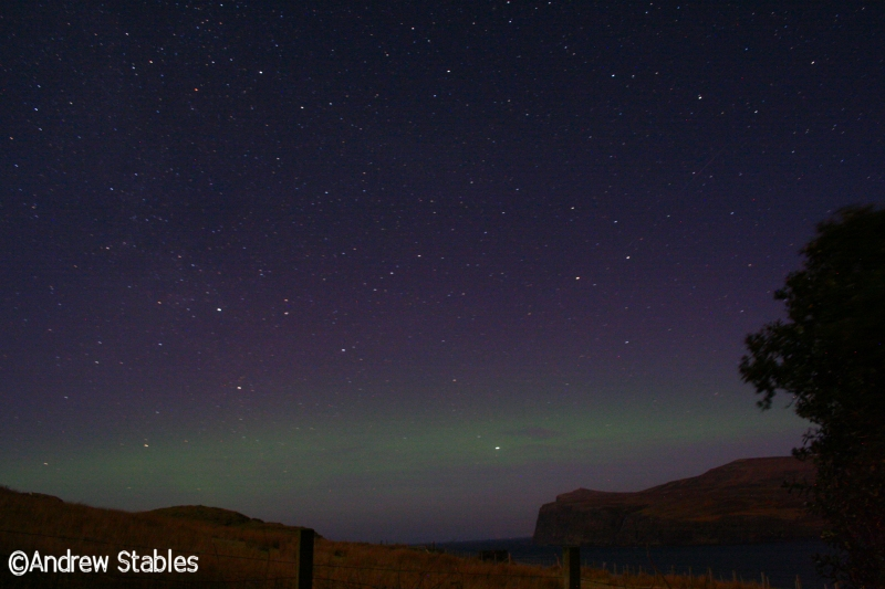 Aurora Borealis, Lower Milovaig. February 17th, 2013.