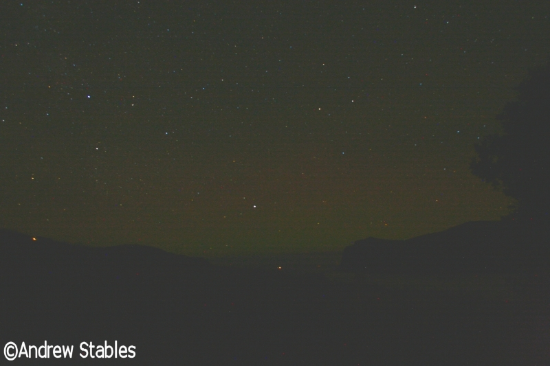 Aurora Borealis, Lower Milovaig. December 13th at 12:30am, 2012.