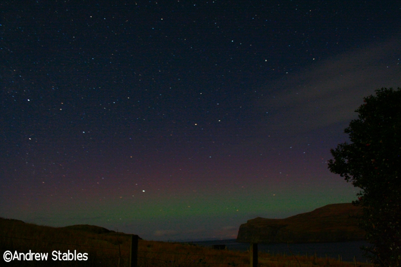 Aurora Borealis, Lower Milovaig. January 18th, 2013.