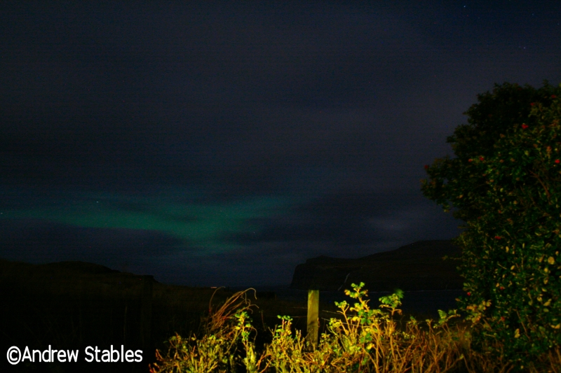 Aurora Borealis, Lower Milovaig. November 20th, 2012.