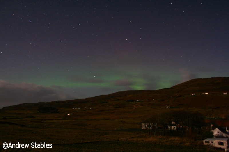 Aurora Borealis, Lephin. November 24th, 2012.