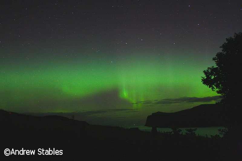 Aurora Borealis, Lower Milovaig. October 8th, 2012.