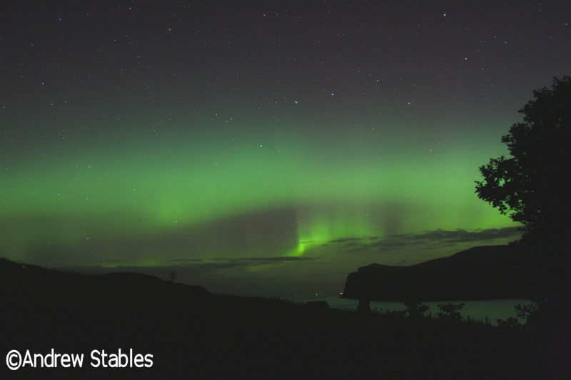 Aurora Borealis, Lower Milovaig. October 9th, 2012.
