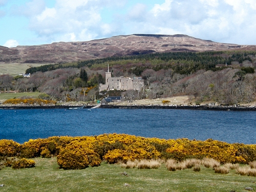 Dunvegan Castle from Uiginish