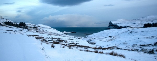 Winter In Glendale Isle Of Skye